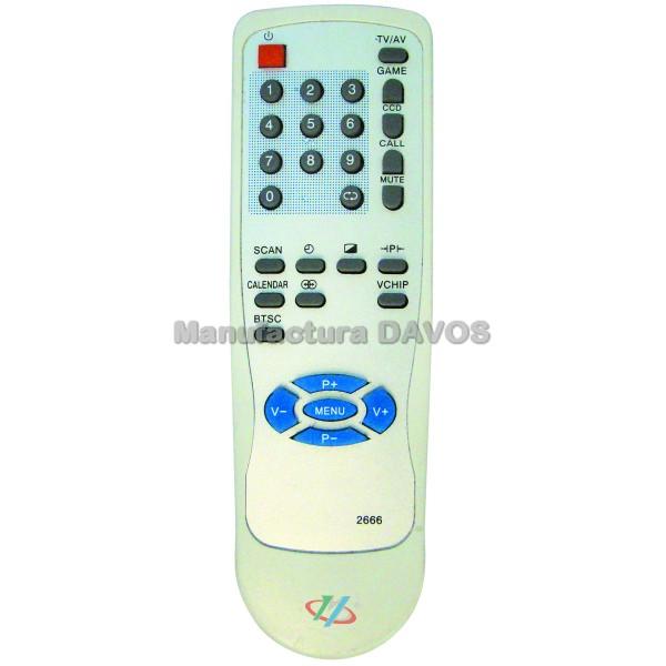 Art  2666 Remoto Tv Audiologic - Ken Brown
