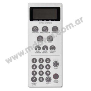 TECLADO MD213 GENERAL ELECTRIC HMGE 3IDMI01 - ART. 3435