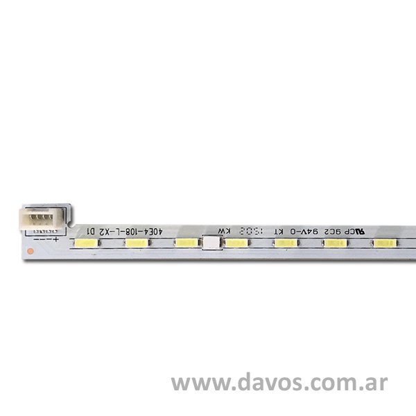 ART. 5963 - TIRA DE 54 LED 44.5CM