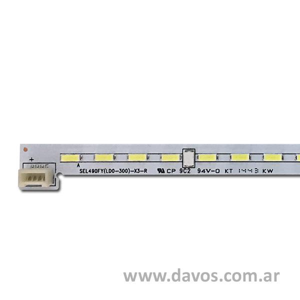 ART. 5964 - TIRA DE 78 LED 54CM