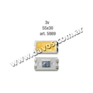 ART. 5989 - LED PANTALLA 3V 55X30 FRIO SAMSUNG