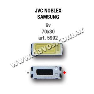 ART. 5992 - LED PANTALLA 6V 70X30 JVC - NOBLEX - SAMSUNG