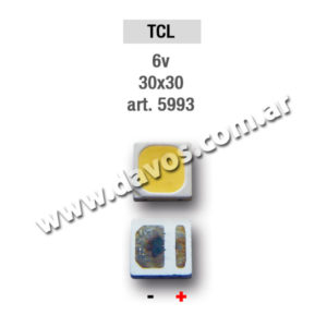 ART. 5993 - LED PANTALLA 6V 30X30 TCL