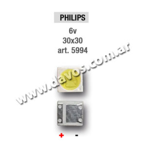 ART. 5994 - LED PANTALLA 6V 30X30 PHILIPS