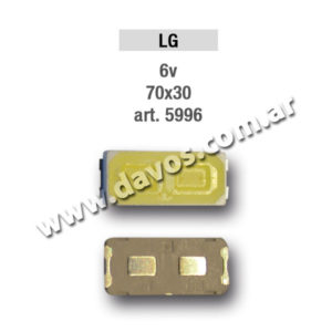 ART. 5996 - LED PANTALLA 6,5V 70X30 LG