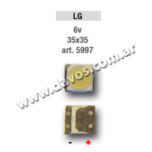 ART. 5997 - LED PANTALLA 6V 35X35 LG