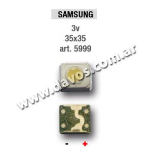 ART. 5999 - LED PANTALLA 3V 35x35 SAMSUNG