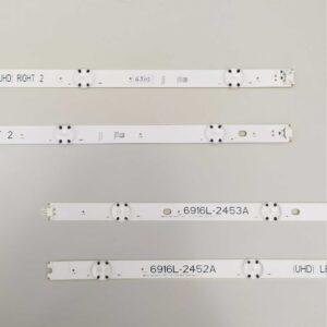 ART. 6505 - TIRA DE LED 4x2 LG 49UH6500-SB 97,5CM (Left 2 + Right 2)