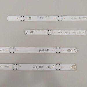 ART. 6507 - TIRA DE LED 5+4 LG 49UJ6560 99cm (A+B)